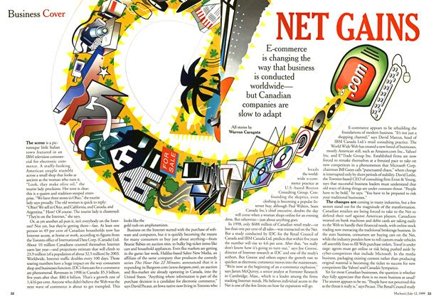 Article Preview: NET GAINS, July 1999 | Maclean's