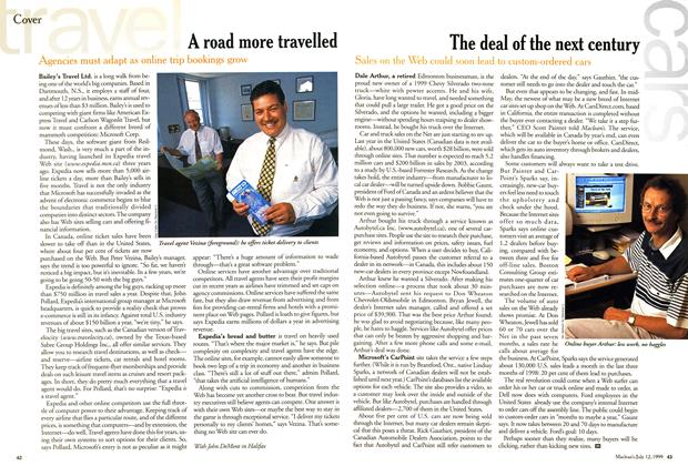 Article Preview: A road more travelled, July 1999 | Maclean's