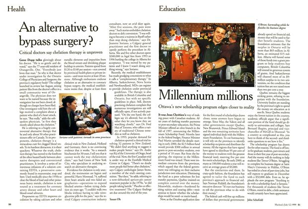 Article Preview: Millennium millions, July 1999 | Maclean's