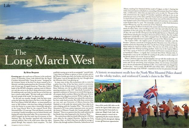 Article Preview: The Long March West, July 1999 | Maclean's