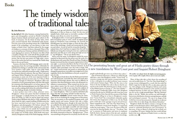 Article Preview: The timely wisdom of traditional tales, July 1999 | Maclean's
