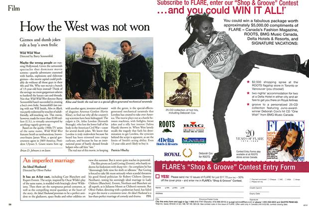 Article Preview: How the West was not won, July 1999 | Maclean's