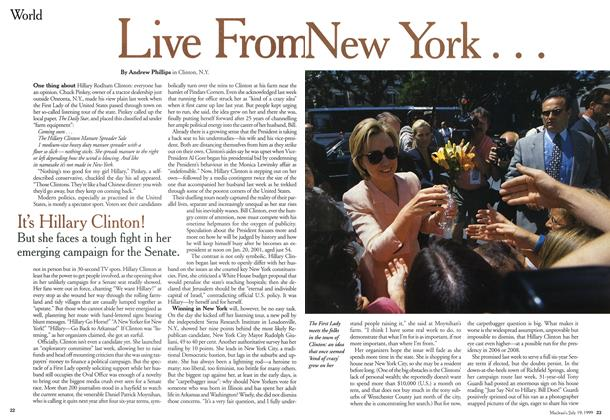 Article Preview: Live From New York . . ., July 1999 | Maclean's