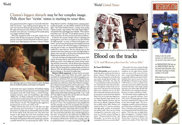 Article Preview: Blood on the tracks, July 1999 | Maclean's