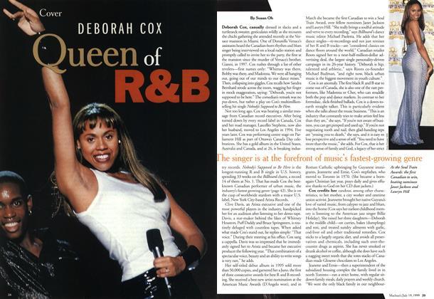 Article Preview: DEBORAH COX Queen of R & B, July 1999 | Maclean's