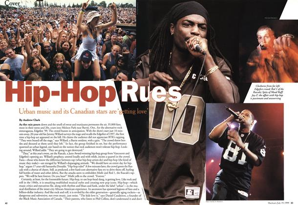 Article Preview: Hip-Hop Rules, July 1999 | Maclean's