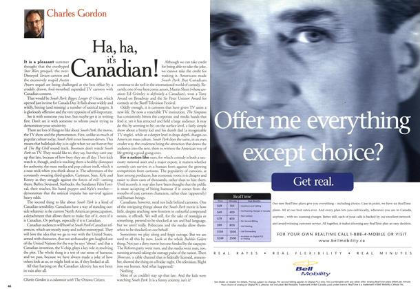 Article Preview: Ha, ha, it's Canadian!, July 1999 | Maclean's