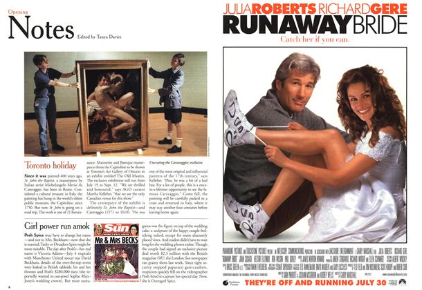 Article Preview: Opening Notes, July 1999 | Maclean's