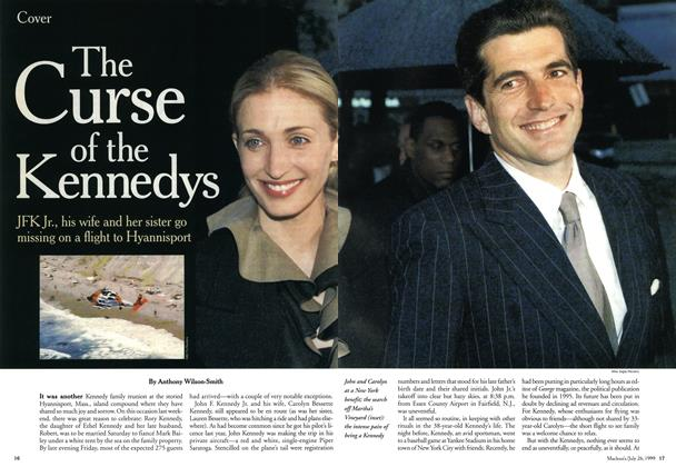 Article Preview: The Curse of the Kennedys, July 1999 | Maclean's