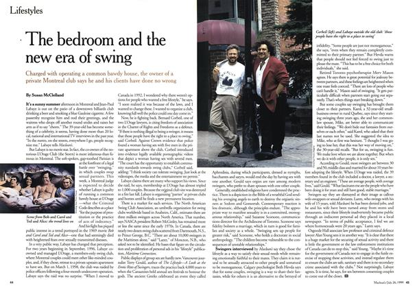 Article Preview: The bedroom and the new era of swing, July 1999 | Maclean's