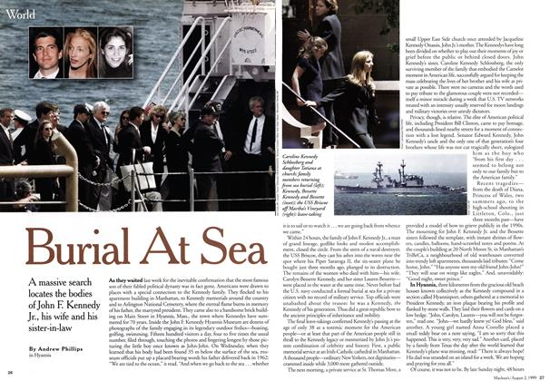 Article Preview: Burial At Sea, August 1999 | Maclean's