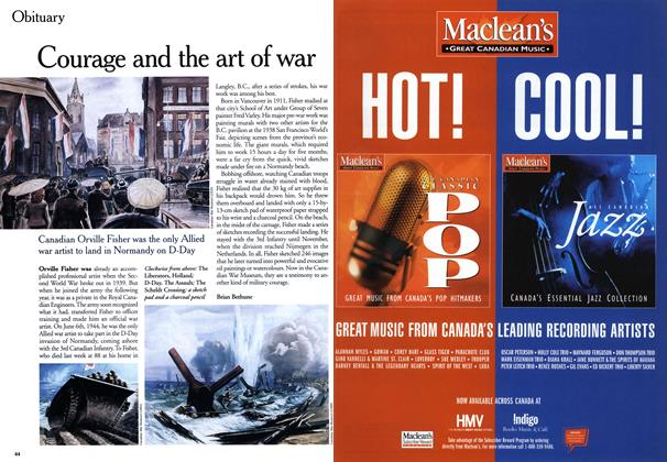 Article Preview: Courage and the art of war, August 1999 | Maclean's