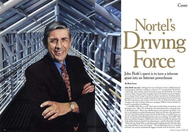 Article Preview: Nortel's Driving Force, August 1999 | Maclean's