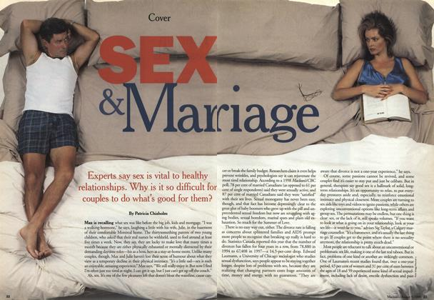 Article Preview: Sex & Marriage, August 1999 | Maclean's