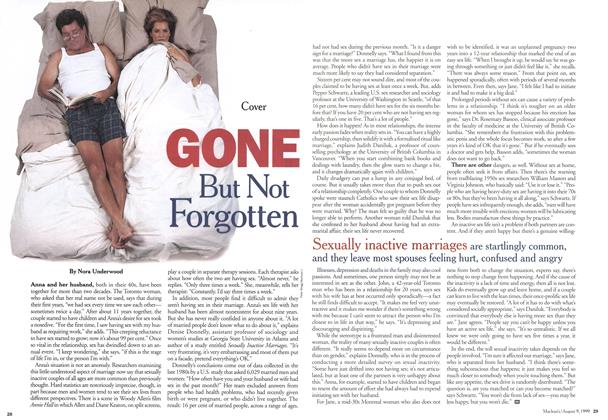Article Preview: GONE But Not Forgotten, August 1999 | Maclean's