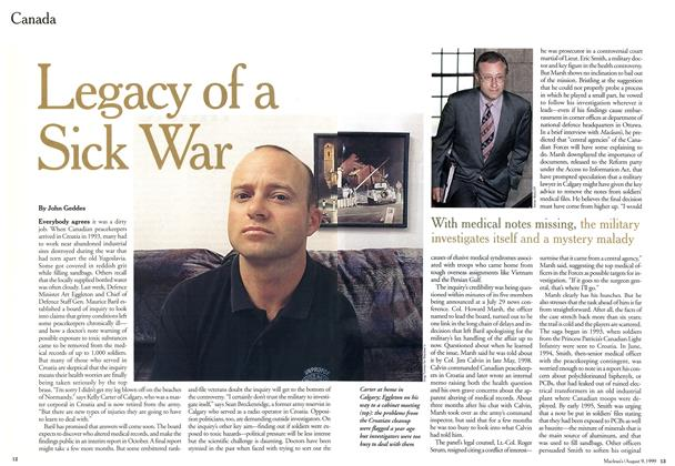 Article Preview: Legacy of a Sick War, August 1999 | Maclean's