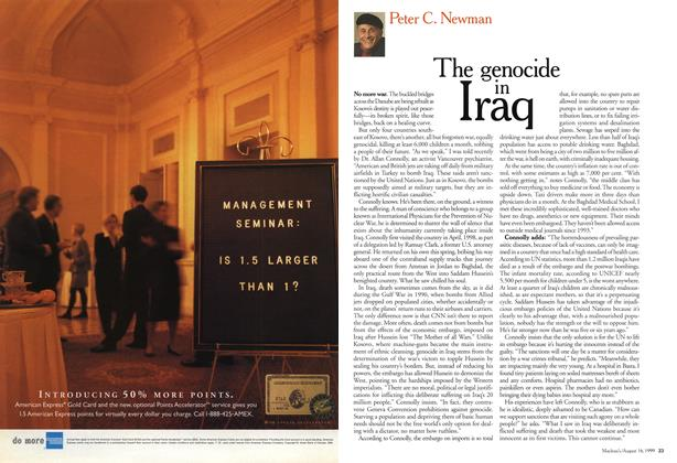 Article Preview: The genocide Iraq, August 1999 | Maclean's