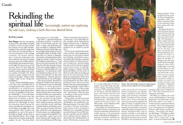 Article Preview: Rekindling the spiritual life, August 1999 | Maclean's