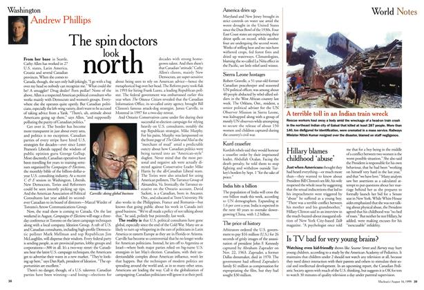 Article Preview: World Notes, August 1999 | Maclean's