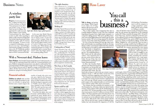 Article Preview: You call this a business?, August 1999 | Maclean's
