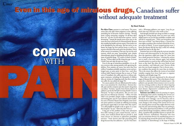 Article Preview: COPING WITH PAIN, August 1999 | Maclean's