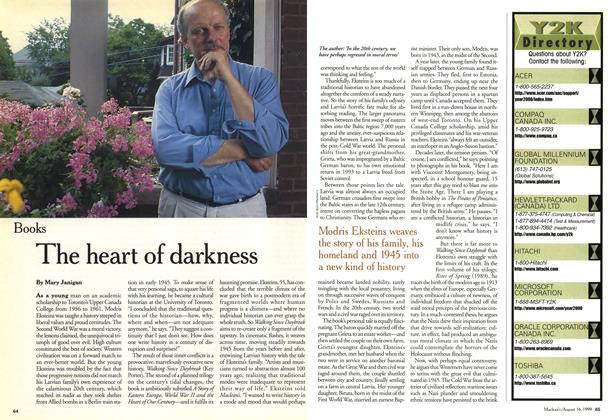 Article Preview: The heart of darkness, August 1999 | Maclean's