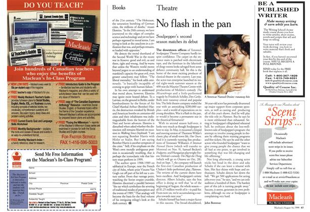 Article Preview: No flash in the pan, August 1999 | Maclean's