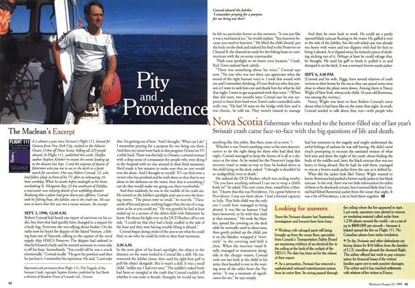 Article Preview: Pity and Providence, August 1999 | Maclean's