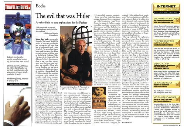 Article Preview: The evil that was Hitler, August 1999   Maclean's