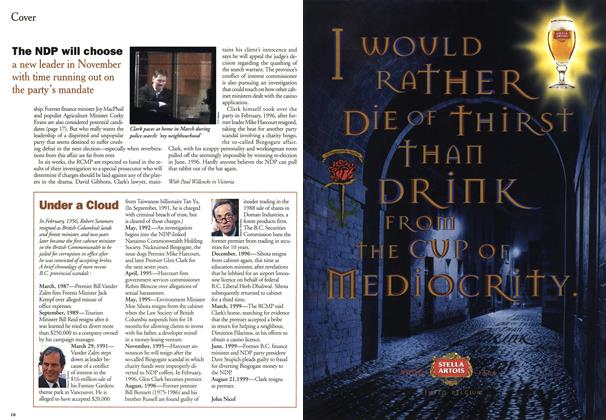 Article Preview: Under a Cloud, August 1999 | Maclean's