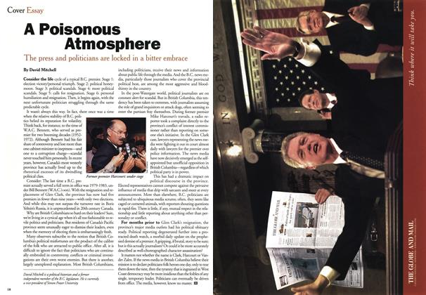 Article Preview: A Poisonous Atmosphere, August 1999 | Maclean's