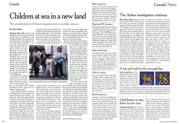 Article Preview: Children at sea in a new land, August 1999 | Maclean's