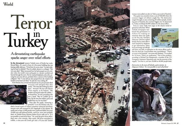 Article Preview: Terror in Turkey, August 1999 | Maclean's