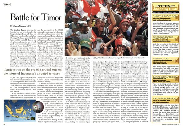 Article Preview: Battle for Timor, August 1999 | Maclean's