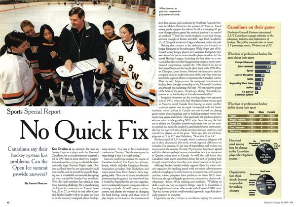 Article Preview: No Quick Fix, August 1999 | Maclean's