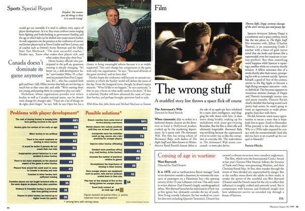 Article Preview: The wrong stuff, August 1999 | Maclean's