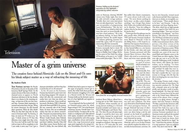 Article Preview: Master of a grim universe, August 1999 | Maclean's