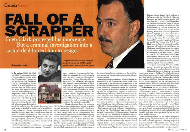 Article Preview: FALL OF A SCRAPPER, August 1999 | Maclean's