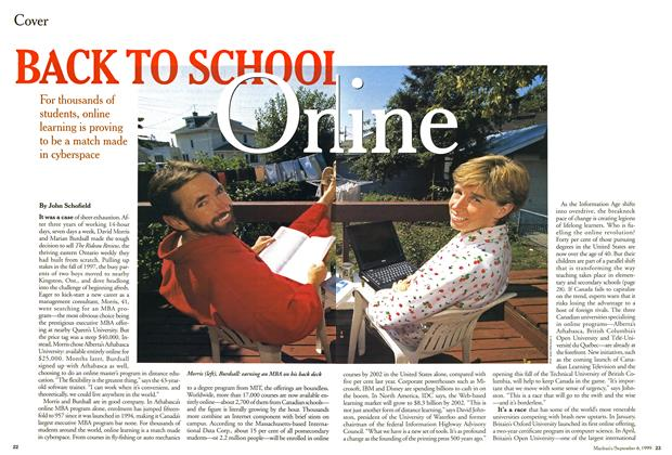 Article Preview: BACK TO SCHOOL On line, September 1999 | Maclean's