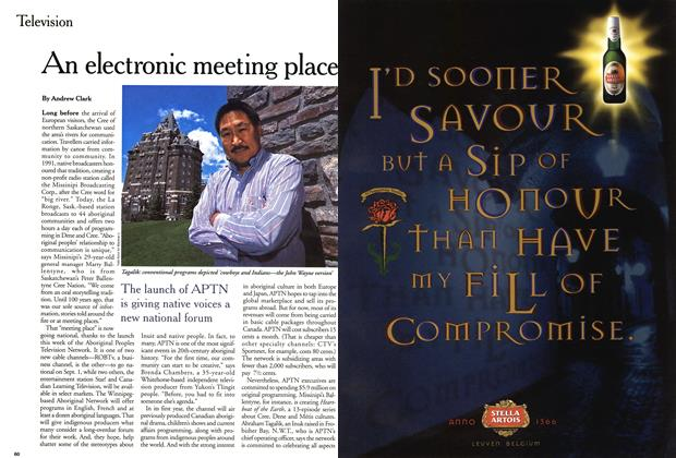 Article Preview: An electronic meeting place, September 1999 | Maclean's