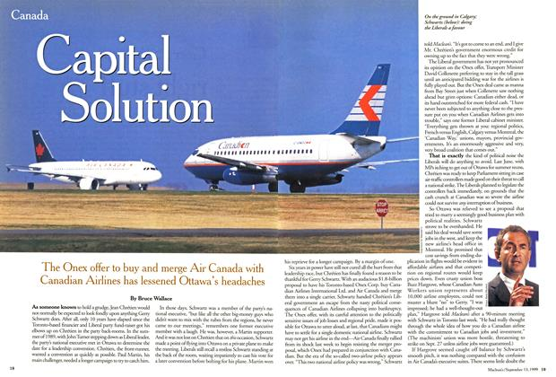 Article Preview: Capital Solution, September 1999 | Maclean's