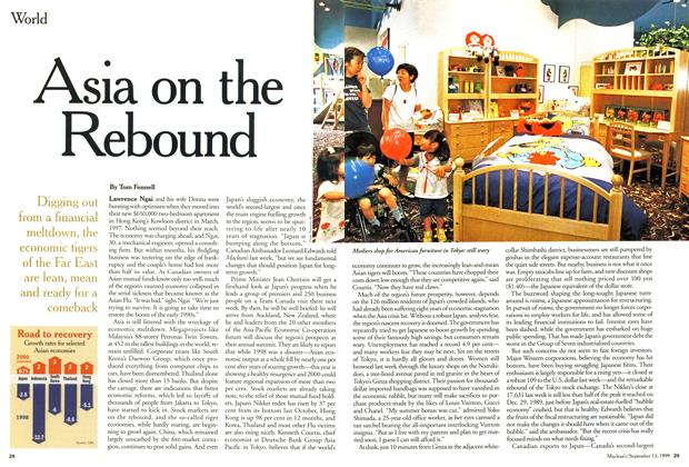 Article Preview: Asia on the Rebound, September 1999 | Maclean's