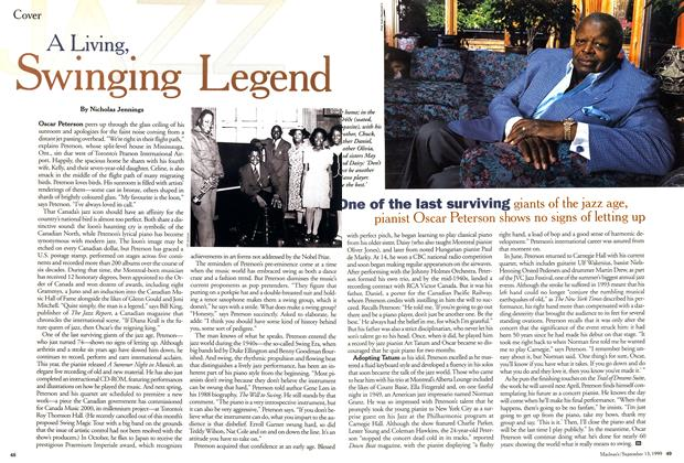 Article Preview: A Living, Sweinging Legend, September 1999 | Maclean's
