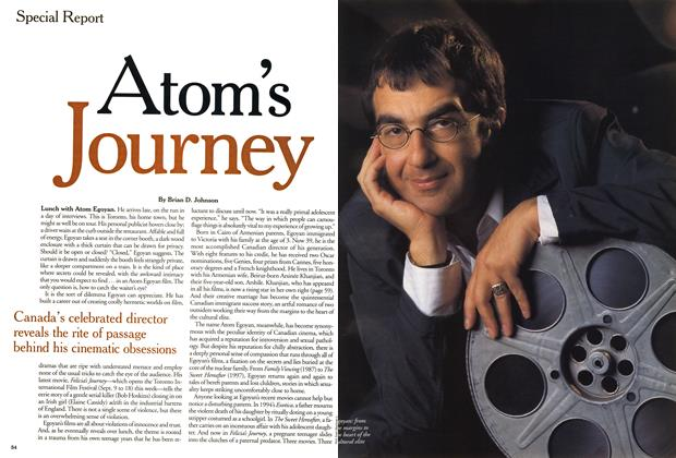 Article Preview: Atom's Journey, September 1999 | Maclean's