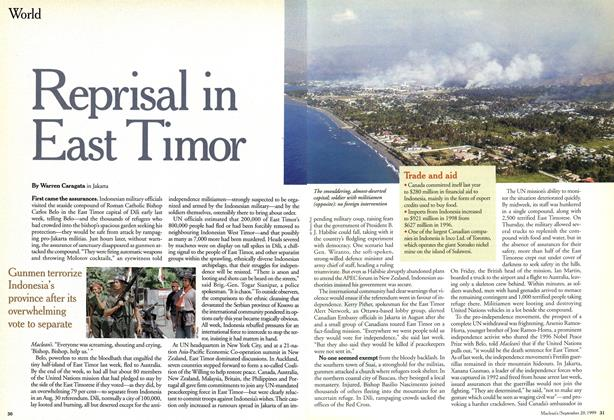 Article Preview: Reprisal in East Timor, September 1999 | Maclean's