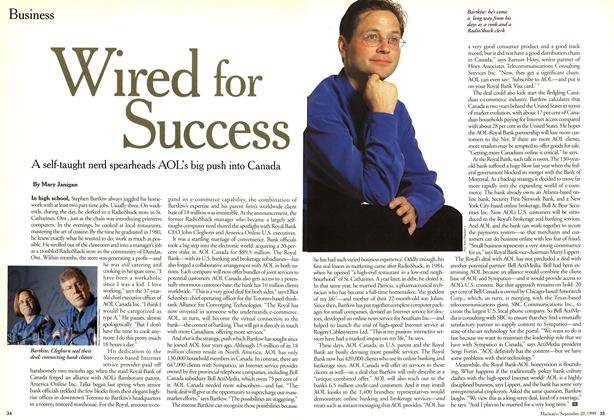Article Preview: Wired for Success, September 1999   Maclean's