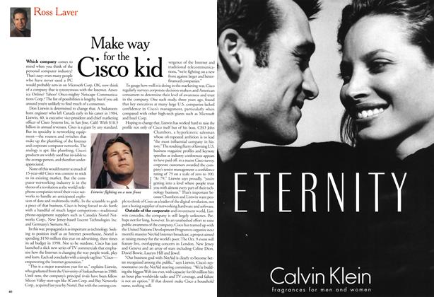 Article Preview: Make way for the Cisco kid, September 1999 | Maclean's