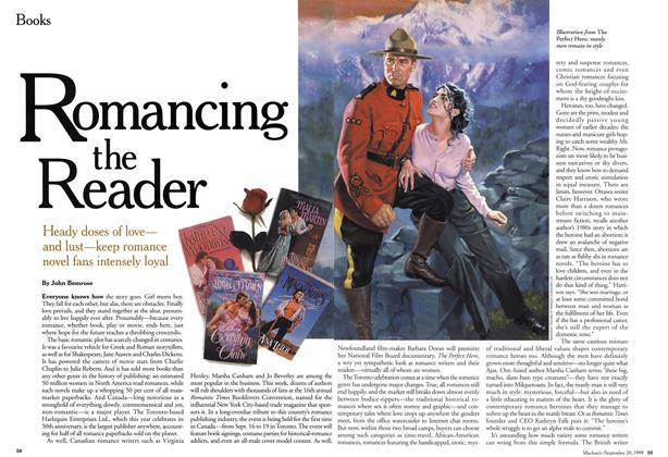 Article Preview: Romancing the Reader, September 1999   Maclean's