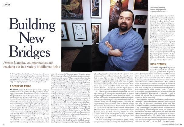 Article Preview: Building New Bridges, September 1999 | Maclean's