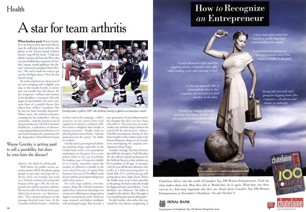 Article Preview: A star for team arthritis, September 1999 | Maclean's